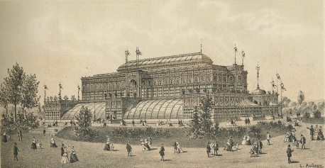 Horticultural Hall, US Centennial, Philadelphia, 1876